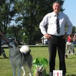 DOG SHOW in Brest, Belarus
