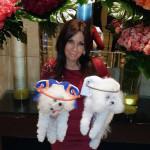 Сильвия Бордо и ее собаки